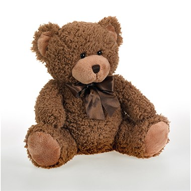 Plush Brown Bear from Ingallina's Gifts (BF106-11KM)